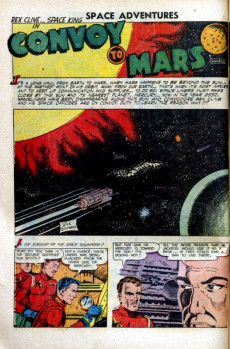 Extrait de Space Adventures (Charlton - 1952) -3- Issue # 3