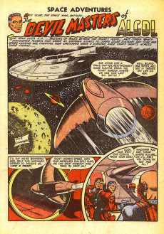 Extrait de Space Adventures (Charlton - 1952) -4- Issue # 4