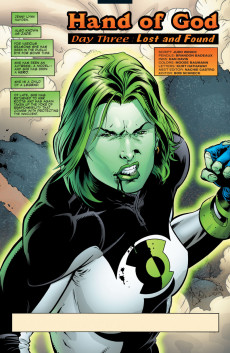 Extrait de Green lantern (1990) -148- Hand Of God, Day Three: Lost and Found