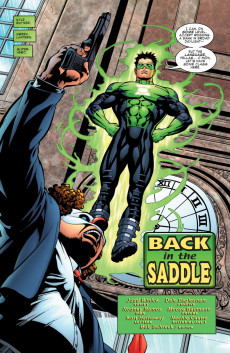 Extrait de Green lantern (1990) -151- Back In The Saddle