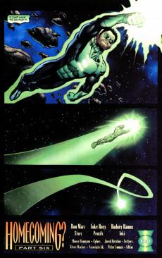 Extrait de Green lantern (1990) -181- Homecoming?, Part 6