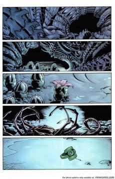 Extrait de Green Lantern versus Aliens -1- Issue #1
