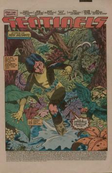Extrait de New Mutants (The) (1983) -2- Sentinels
