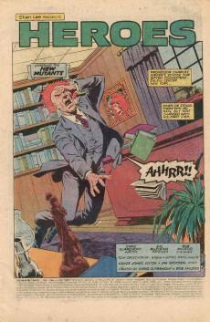 Extrait de New Mutants (The) (1983) -5- Heroes