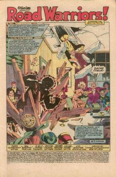 Extrait de New Mutants (The) (1983) -6- Road Warriors!