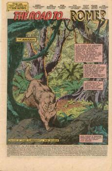Extrait de New Mutants (The) (1983) -8- The Road to... Rome?