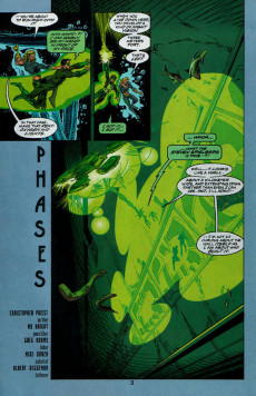 Extrait de Green Lantern 80-Page Giant -2- Phases