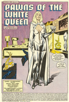 Extrait de New Mutants (The) (1983) -39- The New Hellions