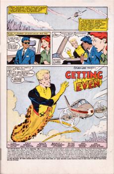 Extrait de New Mutants (The) (1983) -43- Getting Even