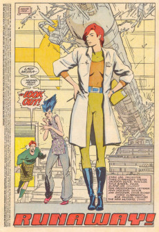 Extrait de New Mutants (The) (1983) -44- Runaway!