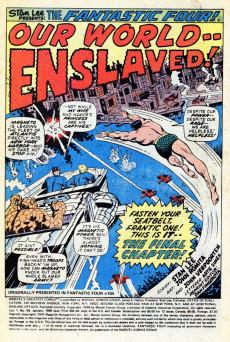 Extrait de Marvel's Greatest Comics (Marvel - 1969) -84- The Conqueror Says Die!