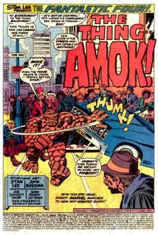 Extrait de Marvel's Greatest Comics (Marvel - 1969) -91- The Thing runs Amok!