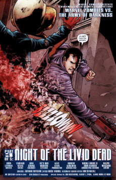 Extrait de Marvel Zombies Vs. Army of Darkness (Marvel/Dynamite - 2007) -A- Issue # 3