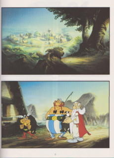 Extrait de Astérix (Hors Série) -C03a1994- Le Coup du menhir - L'Album du film