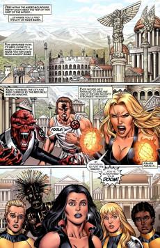 Extrait de New Mutants Forever (2010) -3- The Fall of Nova Roma Part 3