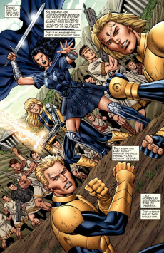 Extrait de New Mutants Forever (2010) -5- The Fall of Nova Roma Part 5