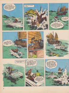 Extrait de Bob Morane 2 (Dargaud) -12a1981- Les fils du dragon