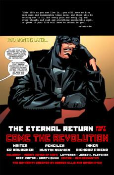 Extrait de Authority (The): Revolution (2004) -1- The Eternal Return, Part 1: Come the Revolution