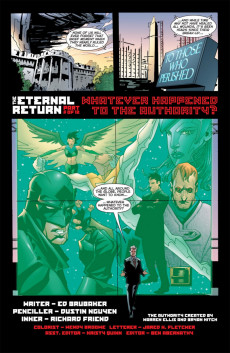 Extrait de Authority (The): Revolution (2004) -6- The Eternal Return Part 6 of 12: Whatever Happened To The Authority?