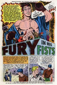 Extrait de Man Comics (Marvel Comics - 1949) -2- Fury In His Fists!