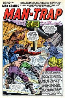 Extrait de Man Comics (Marvel Comics - 1949) -3- Mantrap!