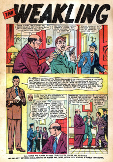 Extrait de Man Comics (Marvel Comics - 1949) -9- Here Comes Sergeant Smith!