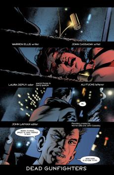 Extrait de Planetary (DC comics - 1999) -3- Dead Gunfighters