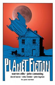 Extrait de Planetary (DC comics - 1999) -9- Planet Fiction