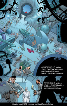Extrait de Planetary (DC comics - 1999) -10- Magic and Loss