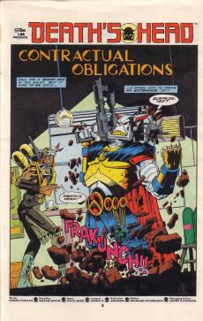 Extrait de Death's Head (Marvel UK - 1988) -2- Issue # 2