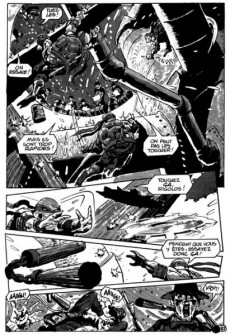Extrait de Les tortues Ninja (Comics USA) -HS- La rivière