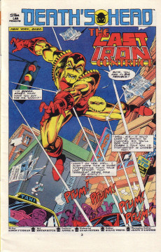 Extrait de Death's Head (Marvel UK - 1988) -10- Issue # 10