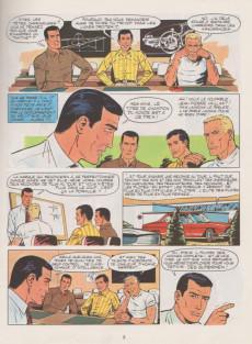 Extrait de Michel Vaillant -18c1975'- De l'huile sur la piste !