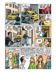 Extrait de Je veux une Harley -6- Garage, sweet garage