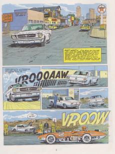 Extrait de Michel Vaillant -11c1978- Suspense à Indianapolis