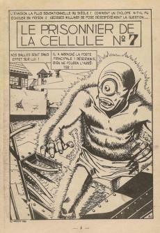 Extrait de Étranges aventures (1re série - Arédit) -1- Le Prisonnier de la cellule n°7
