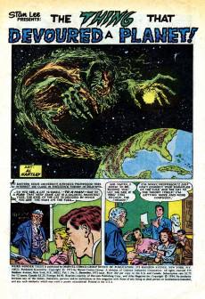 Extrait de Weird Wonder Tales (Marvel Comics - 1973) -1- The Thing That Devoured a Planet!