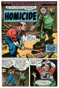 Extrait de Weird Wonder Tales (Marvel Comics - 1973) -6- The Man Who Owned a Ghost?
