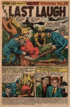 Extrait de Weird Wonder Tales (Marvel Comics - 1973) -8- Reap a Deadly Harvest!