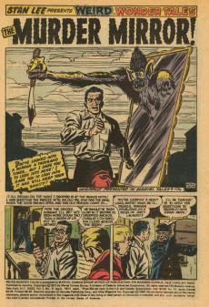 Extrait de Weird Wonder Tales (Marvel Comics - 1973) -9- The Murder Mirror!