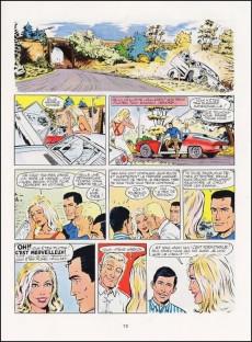 Extrait de Michel Vaillant -18d1977'- De l'huile sur la piste !