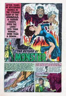 Extrait de Marvel Tales Vol.1 (Marvel Comics - 1949) -96- The Monster Returns!