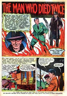 Extrait de Marvel Tales Vol.1 (Marvel Comics - 1949) -101- The Man Who Died Twice!