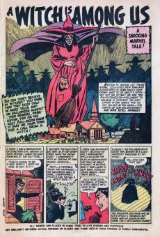 Extrait de Marvel Tales Vol.1 (Marvel Comics - 1949) -102- A Witch is Among Us!