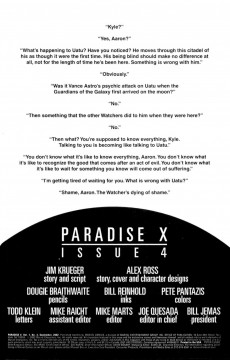 Extrait de Paradise X (Marvel comics - 2002) -4- Issue 4