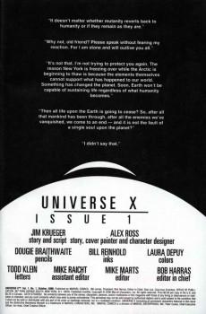 Extrait de Universe X (Marvel Comics - 2000) -1- Issue 1