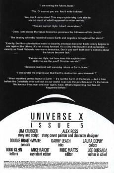 Extrait de Universe X (Marvel Comics - 2000) -5- Issue 5