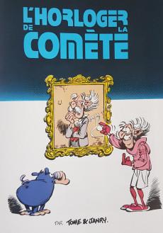 Extrait de Spirou et Fantasio -36b2005- L'horloger de la comete