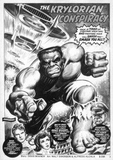 Extrait de Rampaging Hulk Vol.1 (The) (Marvel Comics - 1977) -1- Issue # 1