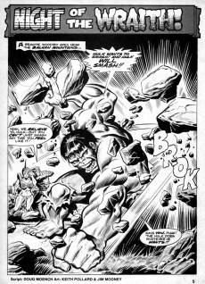 Extrait de Rampaging Hulk Vol.1 (The) (Marvel Comics - 1977) -7- Night of the Soul-Stealer!